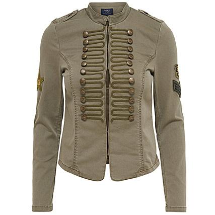 only veste militaire femme arizona vert kaki