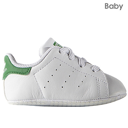 2e3155aa912b4 adidas - Baskets Bébé Stan Smith Originals Blanc Vert -  LaBoutiqueOfficielle.com