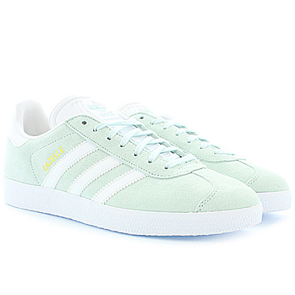 adidas Baskets Femme Gazelle BB5473 Ice Mint Gold Metallic