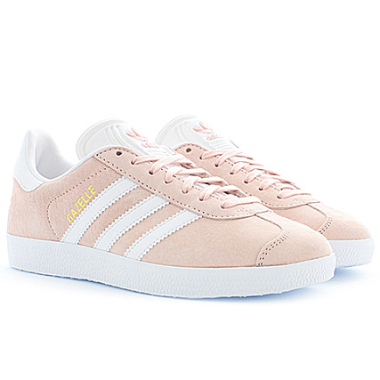 50 70% de réduction bébé gazelle baskets basses vapour pink