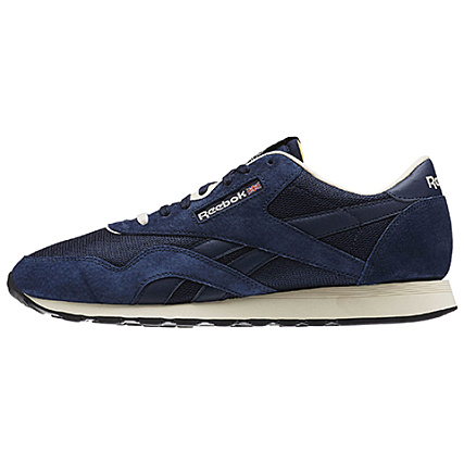 Home   Reebok   Baskets - Chaussures   Baskets Basses   Reebok - Baskets Classic  Nylon P AR1232 Collegiate Navy Paperwhite Antique Copper Black 462b11e65