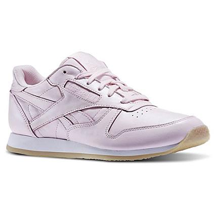 9b264c7f801f1 Reebok - Baskets Femme Classic Leather Crepe Neutral Pop AR0985 Porcelain  Pink White - LaBoutiqueOfficielle.com