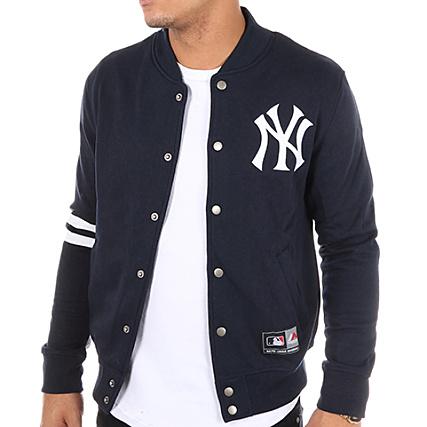 Bleu Marine Emodin Fleece Athletic New Yankees York Majestic Teddy AzTBqn0