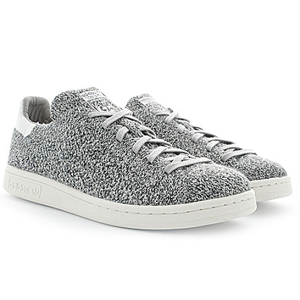 9aeed6e704d adidas - Baskets Stan Smith PK S80069 Mgh Solid Grey White -  LaBoutiqueOfficielle.com