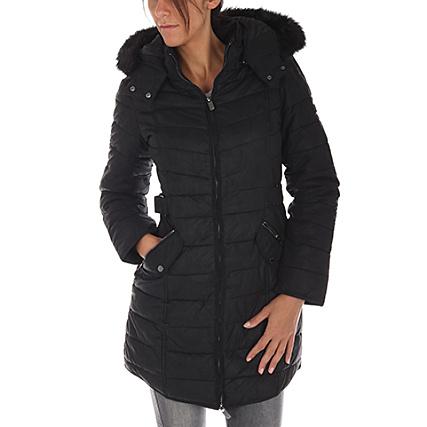 dernière collection styles divers officiel Salsa - Manteau Femme 115413 Noir - LaBoutiqueOfficielle.com