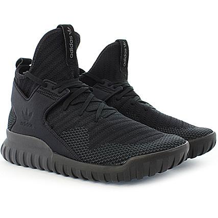 Adidas Dark Grey S80132 Black Core Pk X Tubular Baskets CrdBoex