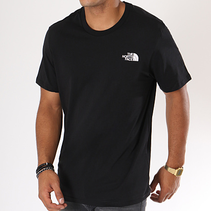 98726b70760 The North Face - Tee Shirt Simple Dome Noir - LaBoutiqueOfficielle.com