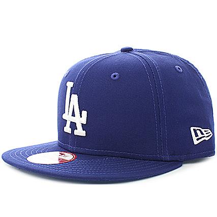 ba3b7dfd16b75 New Era - Casquette Snapback MLB Los Angeles Dodgers 9Fifty Bleu Marine -  LaBoutiqueOfficielle.com