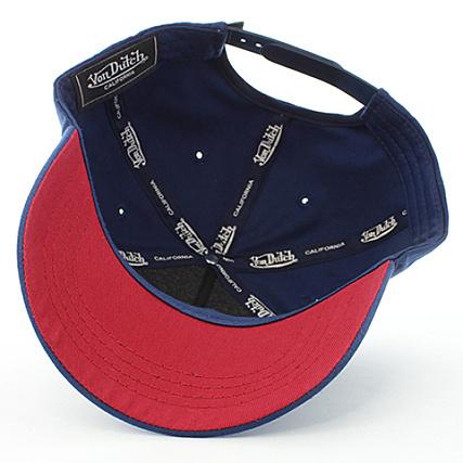 194e1a0a Home > Von Dutch > Casquettes > Casquettes de Baseball > Von Dutch -  Casquette CAS1 Aaron 1 Bleu Marine Rouge