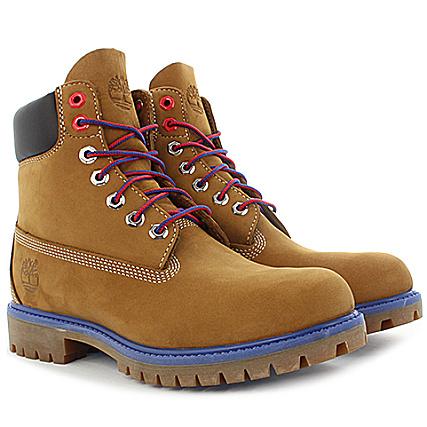 online store 551c3 3424f Timberland - Boots 6 Inch Premium New York Knicks A196O Sundance Camel -  LaBoutiqueOfficielle.com