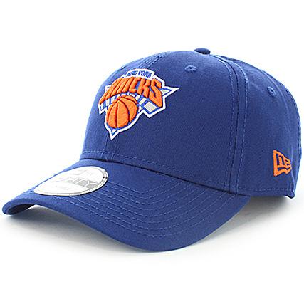 2dce444a2cc11 New Era - Casquette New York Knicks Team 9 Forty Bleu Roi -  LaBoutiqueOfficielle.com