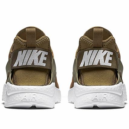 reputable site 32e46 f0d30 Home   Nike   Baskets - Chaussures   Baskets Basses   Nike - Baskets Femme  Air Huarache Run Ultra 819151 302 Olive Flak White Vert Kaki