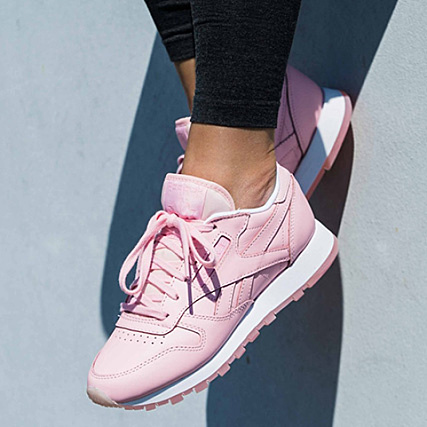 2f3d728b60a Home   Reebok   Baskets - Chaussures   Baskets Basses   Reebok - Baskets  Femme Classic Leather X Face Stockholm BD1327 Genius Clarity Wonder