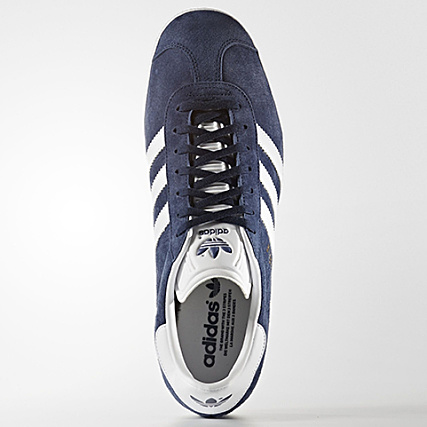 adidas baskets gazelle femme by9144 collegiate navy white gold metallic