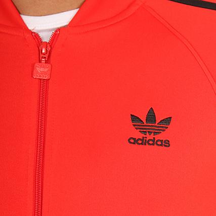 Zippée Bk5918 Tt Rouge Adidas Sst Veste DEWIY2H9