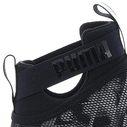 1c4ac63dd4a Home   Puma   Baskets - Chaussures   Baskets Montantes   Puma - Baskets  Femme Fierce Strap Swan 189461 Black