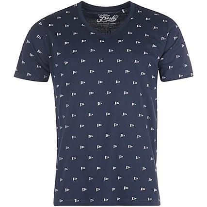 385c5d633b31 The Fresh Brand - Tee Shirt SGTF272 Bleu Marine - LaBoutiqueOfficielle.com