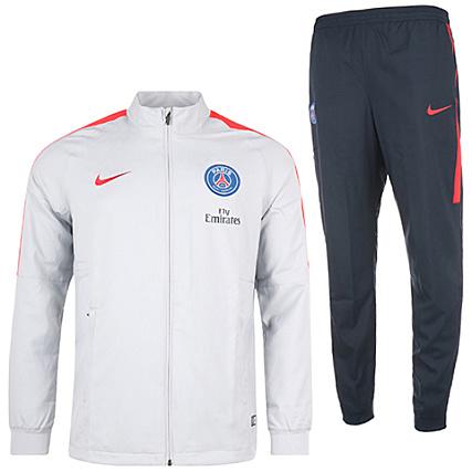 ee86ea8d8601c Nike - Ensemble De Survêtement Paris Saint Germain 809764 013 Gris Bleu  Marine - LaBoutiqueOfficielle.com