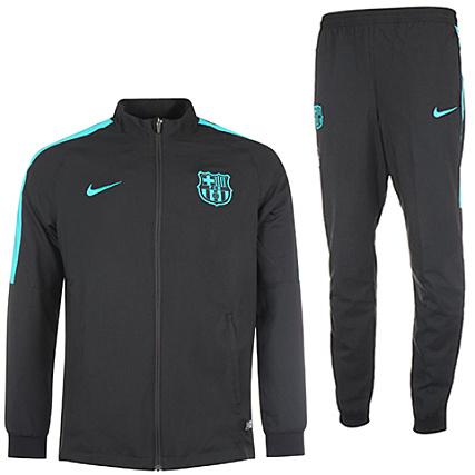 e11424bc8f85c Nike - Ensemble De Survetement FC Barcelona 809949 Noir -  LaBoutiqueOfficielle.com