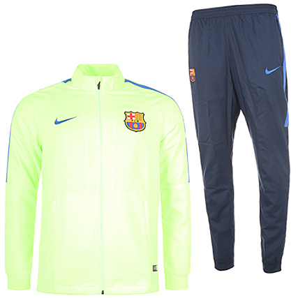 lace up in where to buy big discount Nike - Ensemble De Survêtement FC Barcelona 808949 Vert Fluo ...