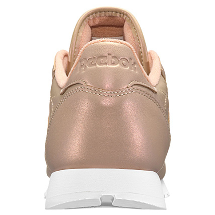 ee4b86708af Home   Reebok   Baskets - Chaussures   Baskets Basses   Reebok - Baskets  Femme Classic Leather Pearlized BD4308 Rose Gold White