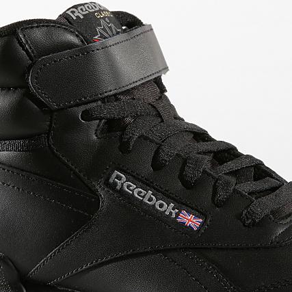 2017 Noir Reebok Classic Chaussures Ex o fit Hi 3478 Homme