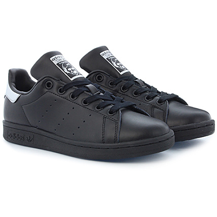 new product 31fd9 bd650 Col Smith Femme Sup Adidas Bb5156 Baskets Stan Black Core 8atwtF5q