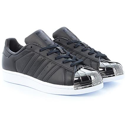 adidas Baskets Femme Superstar Metal Toe BY2883 Core Black