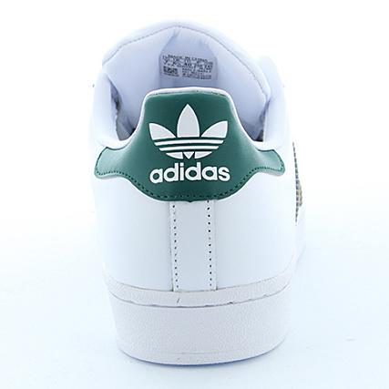 Adidas Footwear Collegiate Basket White Superstar Bb2247 Green OZXiuPkT