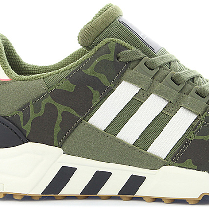 premium selection e3f8d 2267d Home  adidas  Baskets - Chaussures  Baskets Basses  adidas - Baskets EQT  Equipment Support RF BB1323 Olive Cargo Off White Core Black