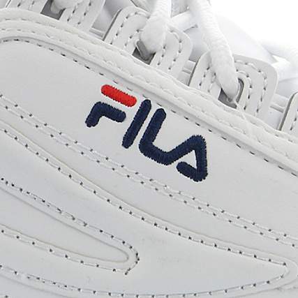 Fila 1010046 Baskets Low White Disruptor Femme X08PnwOk