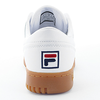 White 5vf80129 Original Fila Femme Fitness Baskets OXZPukTi