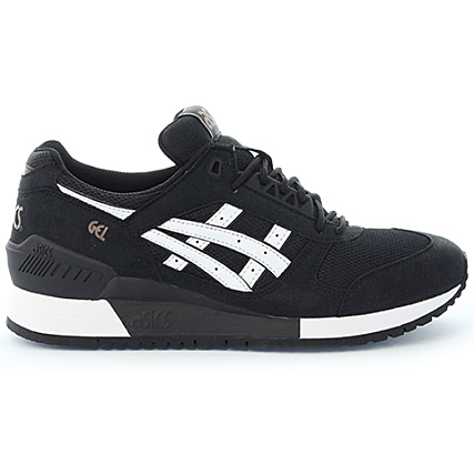 0f8372d3e06 Home   Asics   Baskets - Chaussures   Baskets Basses   Asics - Baskets Gel  Respector H722N 9001 Black White