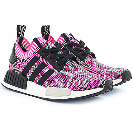 size 40 76209 99219 adidas - Baskets Femme NMD R1 PK BB2363 Shock Pink Core Black Footwear  White - LaBoutiqueOfficielle.com