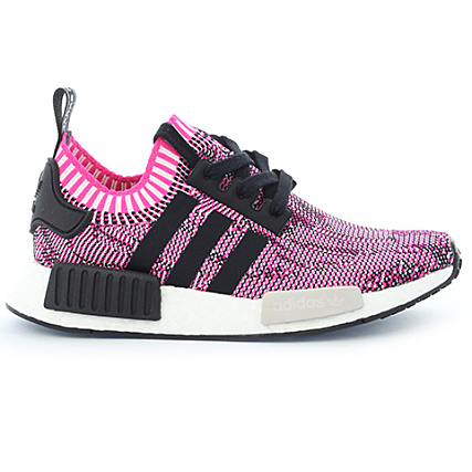 promo code 2200f 323b1 Home  adidas  Baskets - Chaussures  Baskets Basses  adidas - Baskets  Femme NMD R1 PK BB2363 Shock Pink Core Black Footwear White