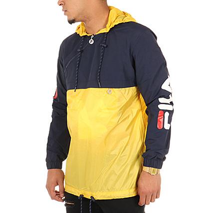 Veste fila jaune bleu