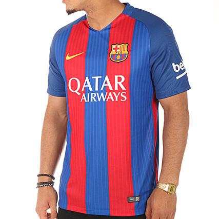 cac551041 Nike - Maillot De Football FC Barcelona 776850 415 Bleu Roi Rouge -  LaBoutiqueOfficielle.com