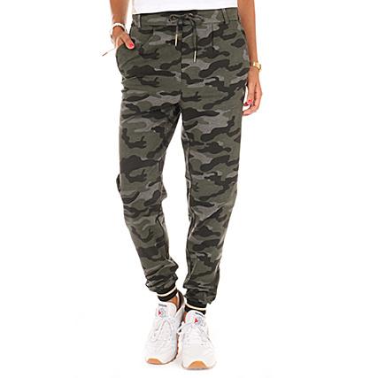 Only - Pantalon Jogging Femme Poptrash Easy Vert Kaki Camouflage -  LaBoutiqueOfficielle.com d0714c6e8af
