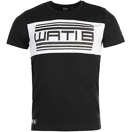 Wati B - Tee Shirt Nelson Noir - LaBoutiqueOfficielle.