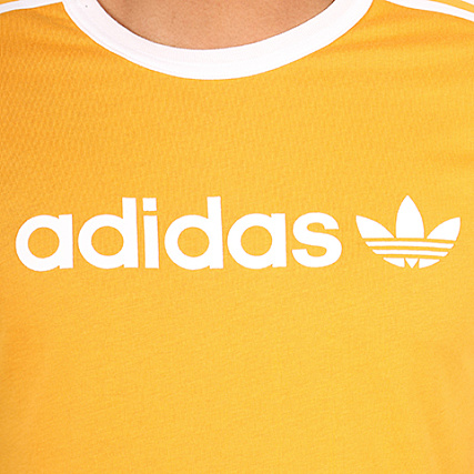 Br4334 Moutarde Shirt Jaune Tee Linear Adidas 7qw60xt