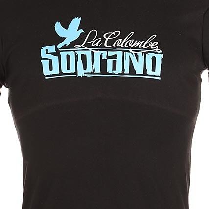 Colombe Noir Bleu Soprano Tee Shirt ID2WH9E