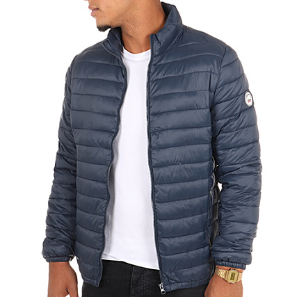 Veste teddy smith homme grise