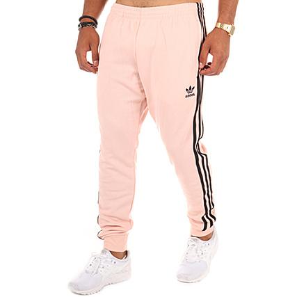6e8a0214e2a63 adidas - Pantalon Jogging SST Cuffed BR4281 Rose Pâle -  LaBoutiqueOfficielle.com