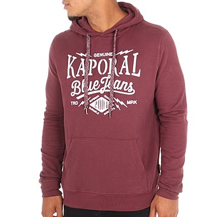 Kaporal Sweat Capuche Mikky Bordeaux