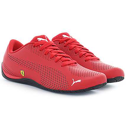 online store a5b01 6bd73 Puma - Baskets Scuderia Ferrari Drift Cat 5 Ultra Reflective 305921 Rouge -  LaBoutiqueOfficielle.com