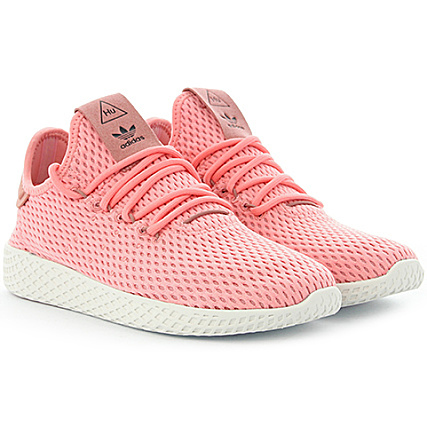 online store ccc1e 4e196 adidas - Baskets Femme Tennis HU Pharrell Williams BY8715 Tactile Pink Raw  Pink - LaBoutiqueOfficielle.com