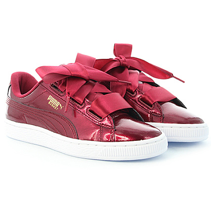 Puma Baskets Glam Femme Heart Red Tibetan wNvm8nO0