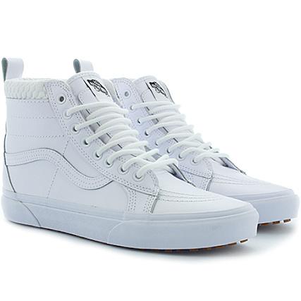 vans baskets sk8 hi mte a33txoqa true white mono white