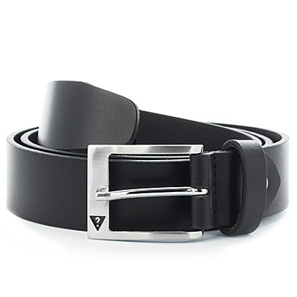 b6129f28c8ed Guess - Ceinture BM6109 Leather Noir - LaBoutiqueOfficielle.com