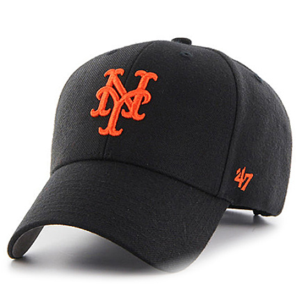 100% genuine later online here 47 Brand - Casquette 47 MVP New York Mets Noir ...